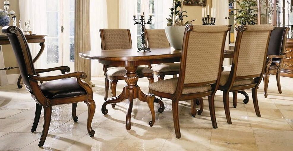 JIMED FURNITURE JES 1211 Rectangular Dining Table Complete With Six Chairs