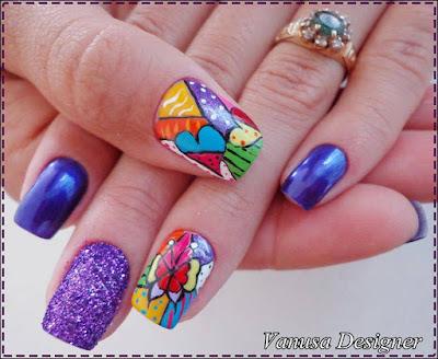 10 diseños hermosos para uñas largas
