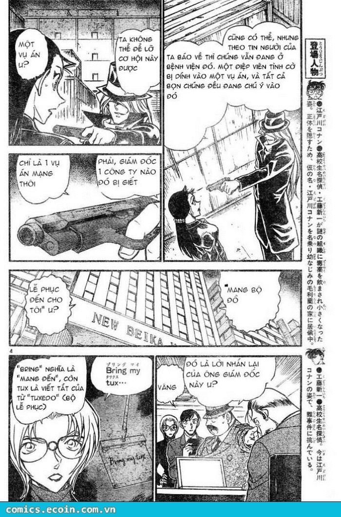 Detective Conan - Thám Tử Lừng Danh Conan chap 607 page 4 - IZTruyenTranh.com