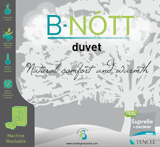 B-Nott Duvet Information Label