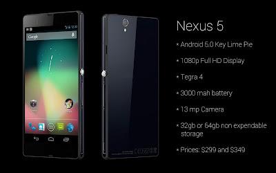 Nexus 5 specs review