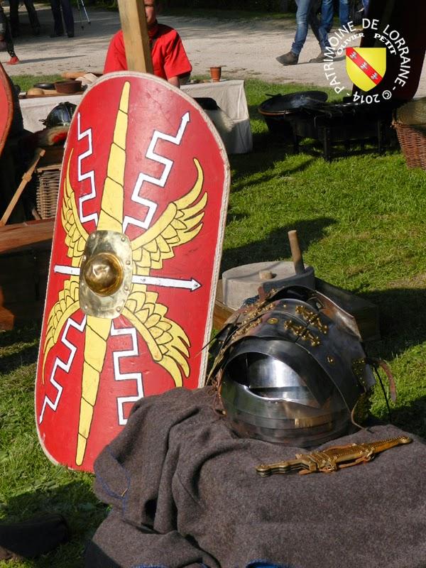 SION (54) - Journée gallo-romaine - Equipement du Légionnaire romain