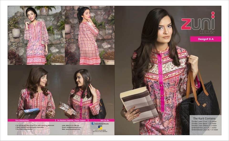 Amna Ismail summer lawn collection 2015