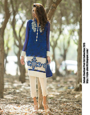 fancy-shirt-in-blue-and-ivory-zainab-cottani-eid-pret-2015