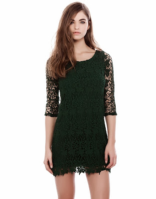 Vestido navidad verde