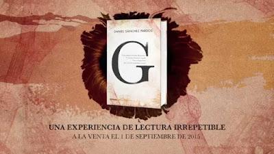 G, la nueva novela de Daniel Sánchez Pardos