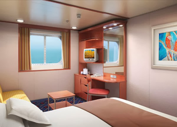 Cruise Ships Inside Ocean View Or Balcony Cabins