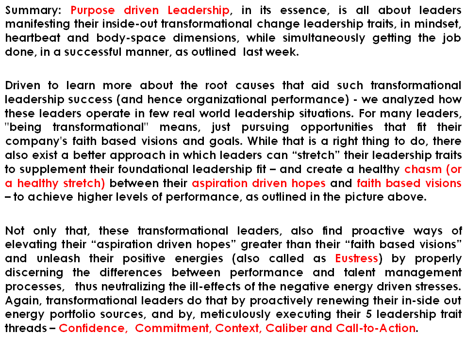 Strategy With Purpose Purpose Driven Leadership Pdl As Stretch
