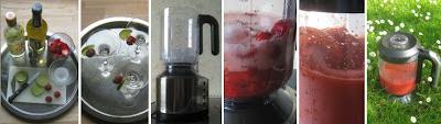 Zubereitungsschritte Frozen Strawberry Daiquiri