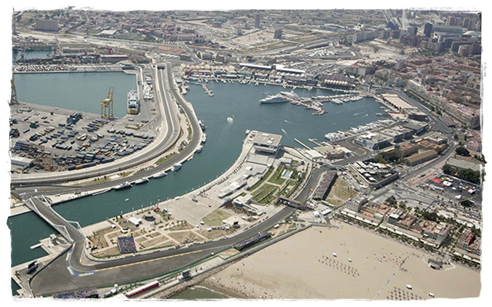 Circuito Urbano De Valencia : Circuito urbano formula i valencia el aeroplano