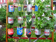 Garden Ideas Using Recycled Items