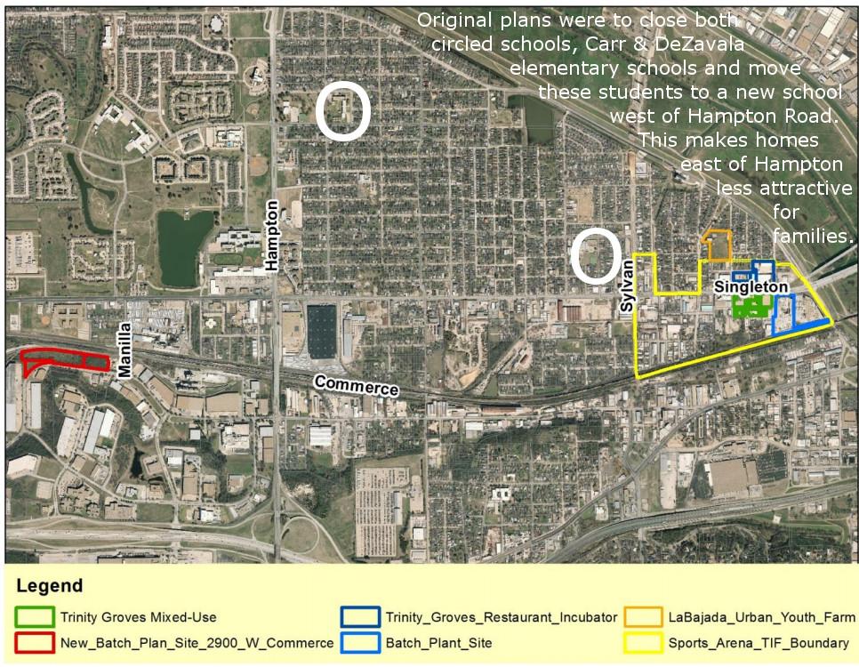 West Dallas Gentrification Process 2015 The School