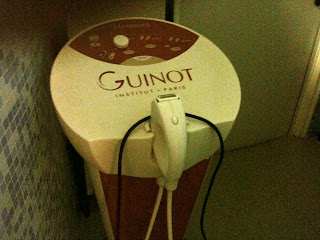 Guinot Technispa triactive anti-cellulite equipment