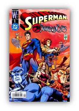 Superman Thundercats on Especial Thundercats Superman Este Crossover Nos Cuenta El Viaje De