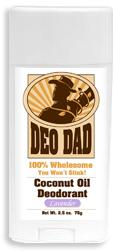 DeoDad, Natural Deodorant