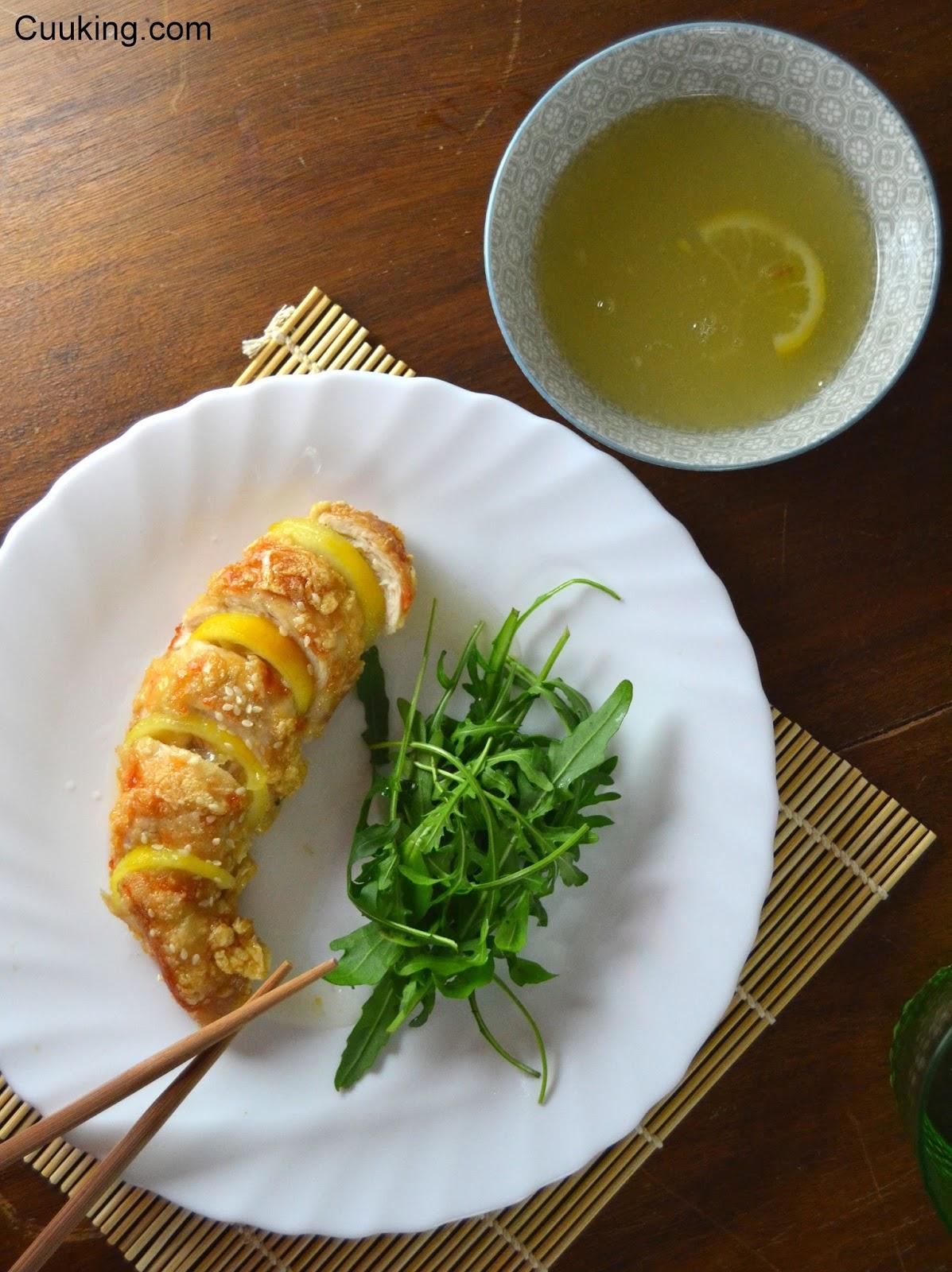 Pollo al lim n cuuking recetas de cocina - Salsa de pollo al limon ...