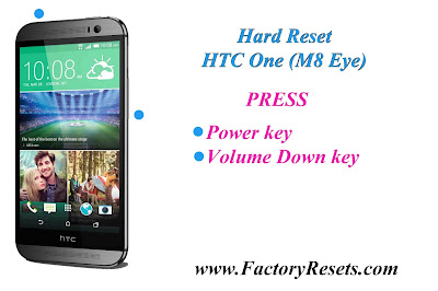 Hard Reset HTC One (M8 Eye)