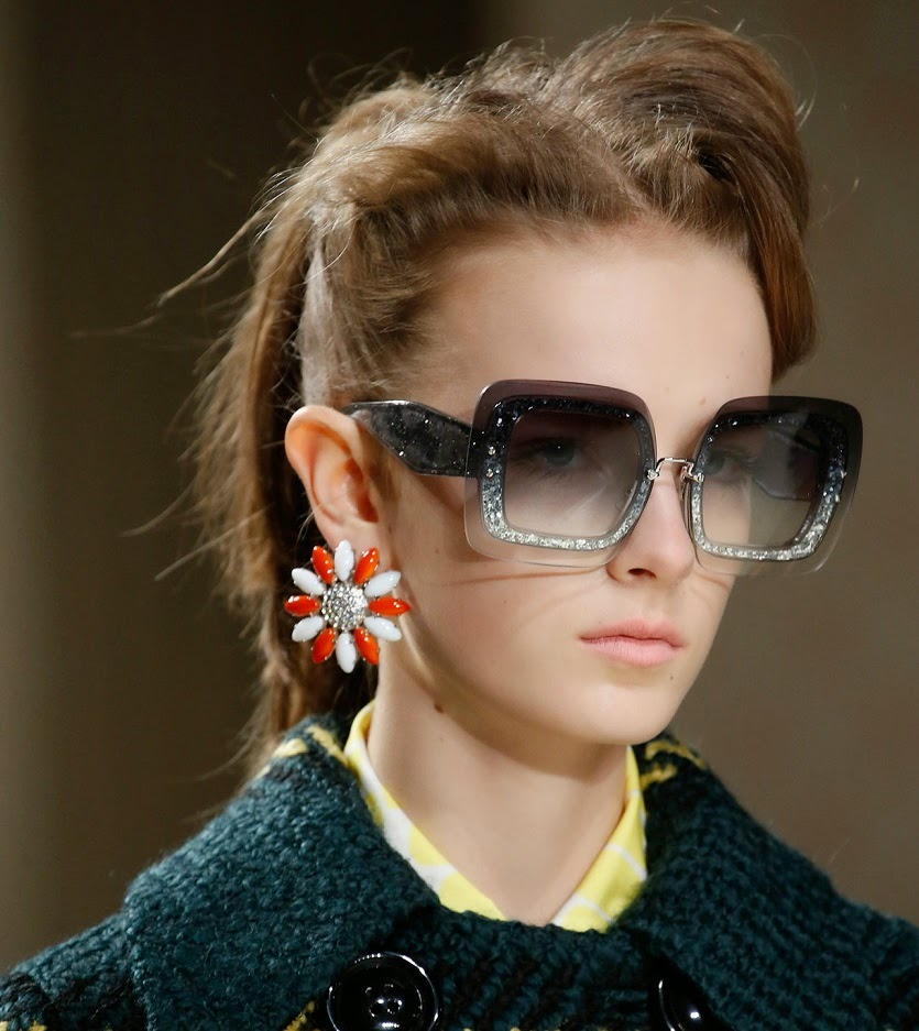 Fashion & Lifestyle: Miu Miu Sunglasses... Fall 2015 ...
