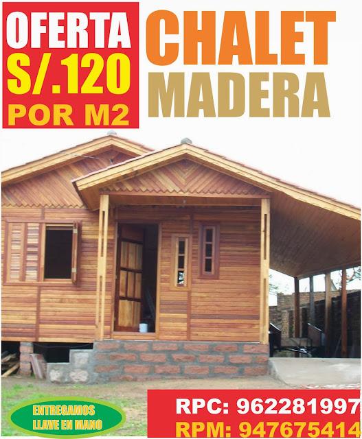 Casas prefabricadas peru modelos for Cuanto cuesta una casa de madera