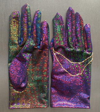 キラキラ手袋
