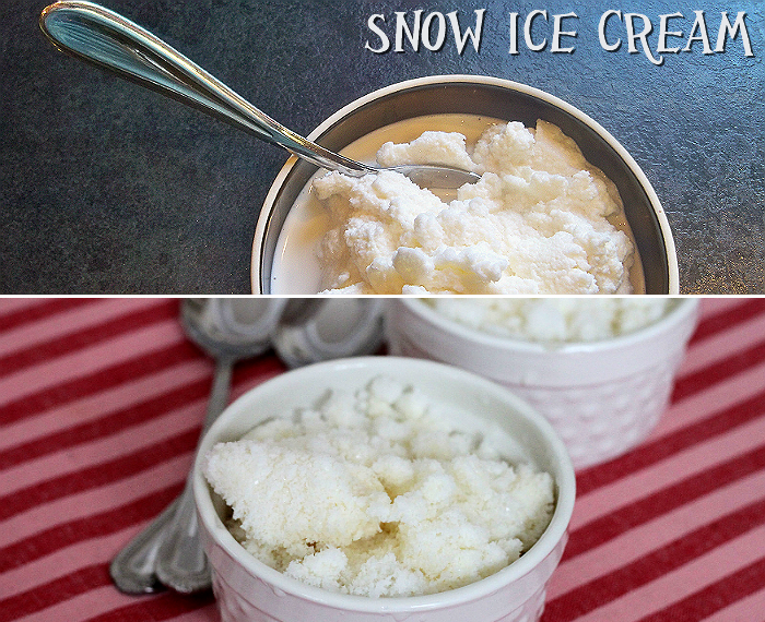 Snow Day Ice Cream Recipe