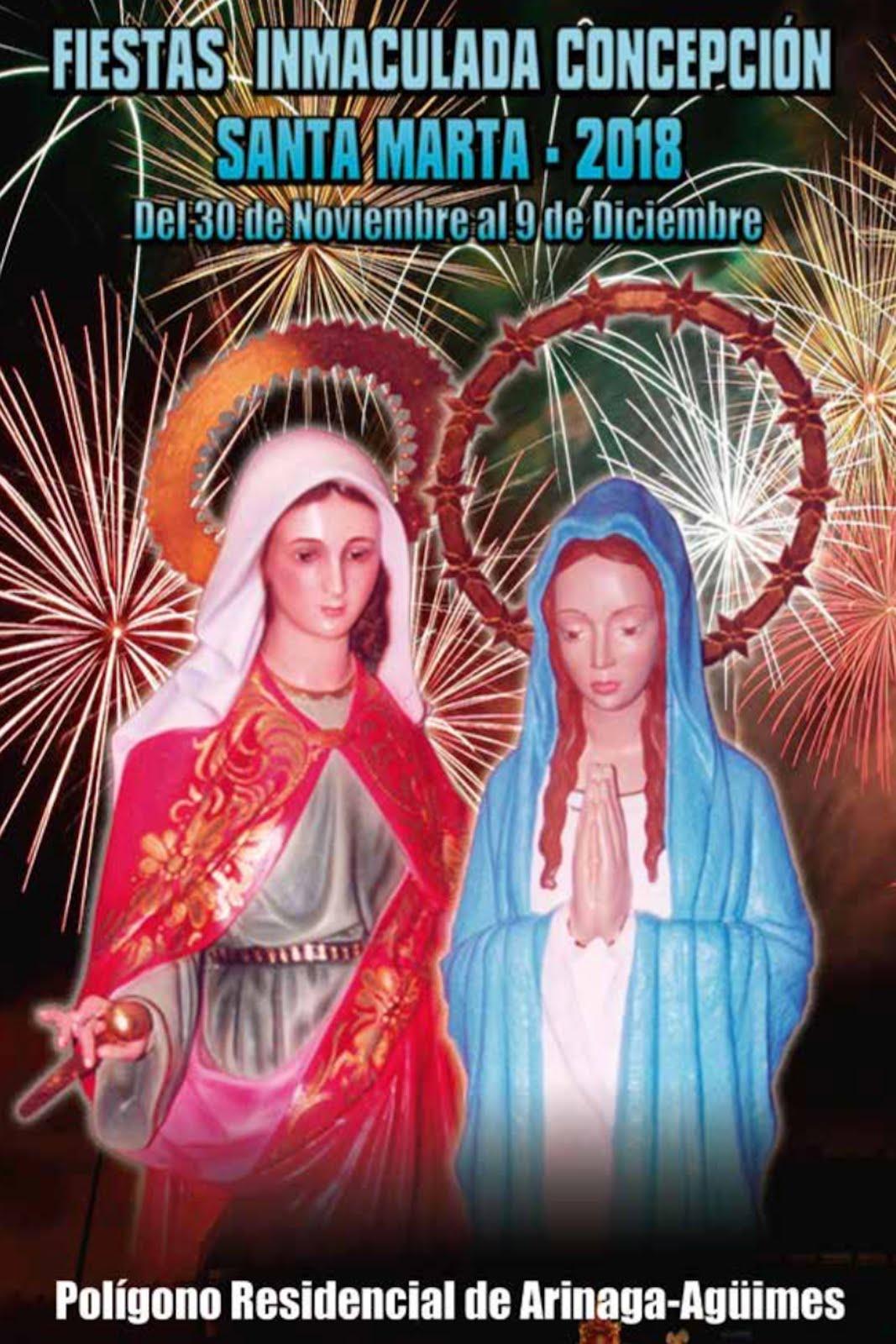 La Inmaculada Concepción y Santa Marta en el Polígono Residencial de Arinaga