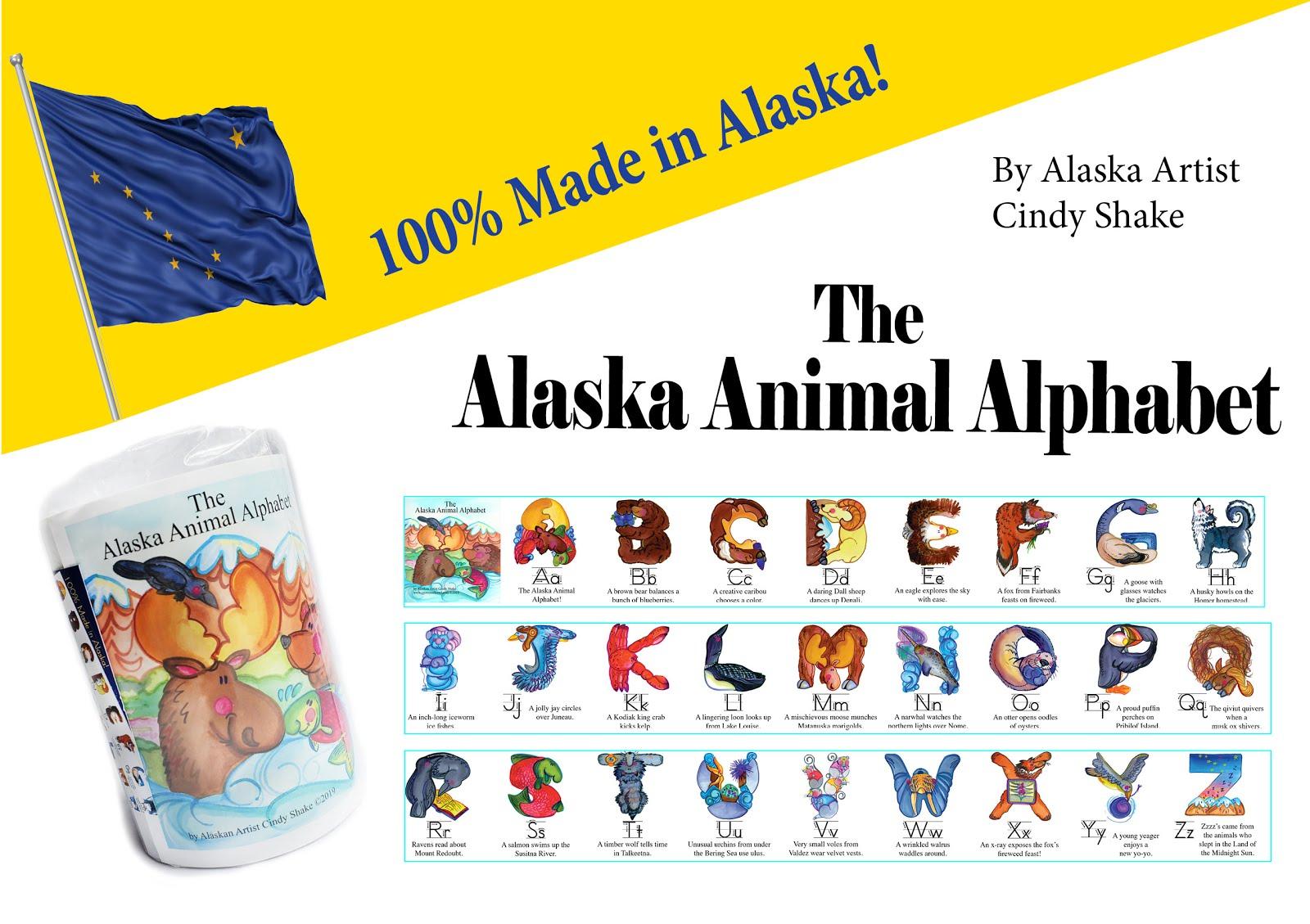 Alaska Animal Alphabet