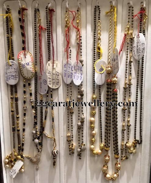Single Layer Black Beads Set