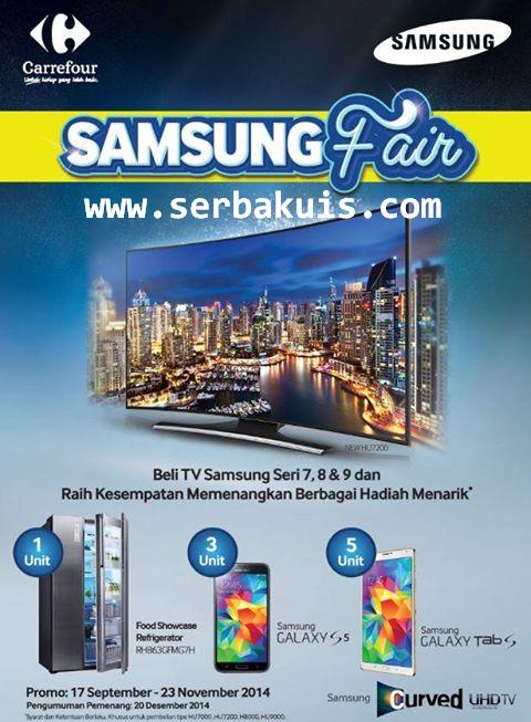 Promo Beli TV Bisa Dapat 5 SAMSUNG Galaxy Tab S