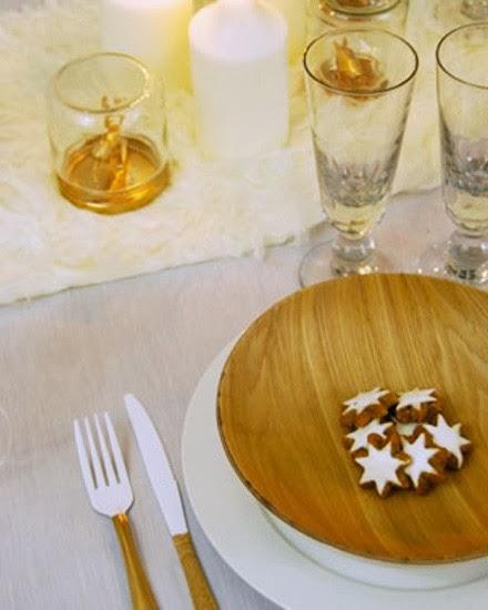 idée décoration table de noël