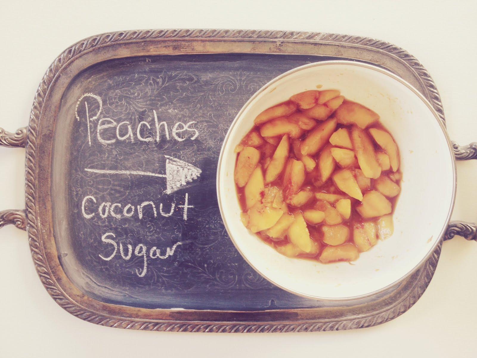 Grain-Free Peach Cobbler