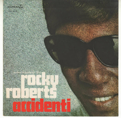 Sanremo 1970 - ROCKY ROBERTS - ACCIDENTI