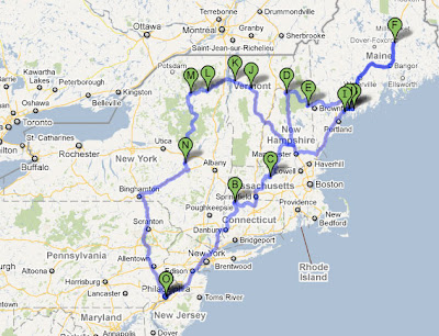 Northeast Road Trip >> Weekend Shenanigans Northeast Road Trip