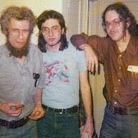 L-R Mike Hinge with Lou Stathis and Jon Singer