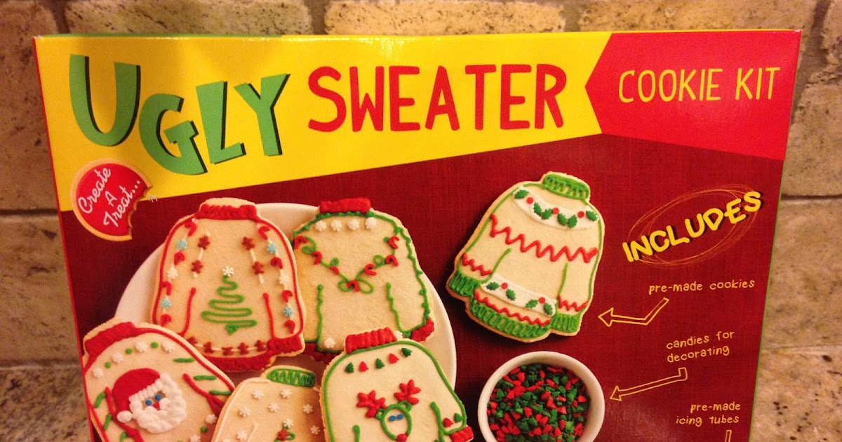 Mystery Playground Ugly Sweater Cookie Kit