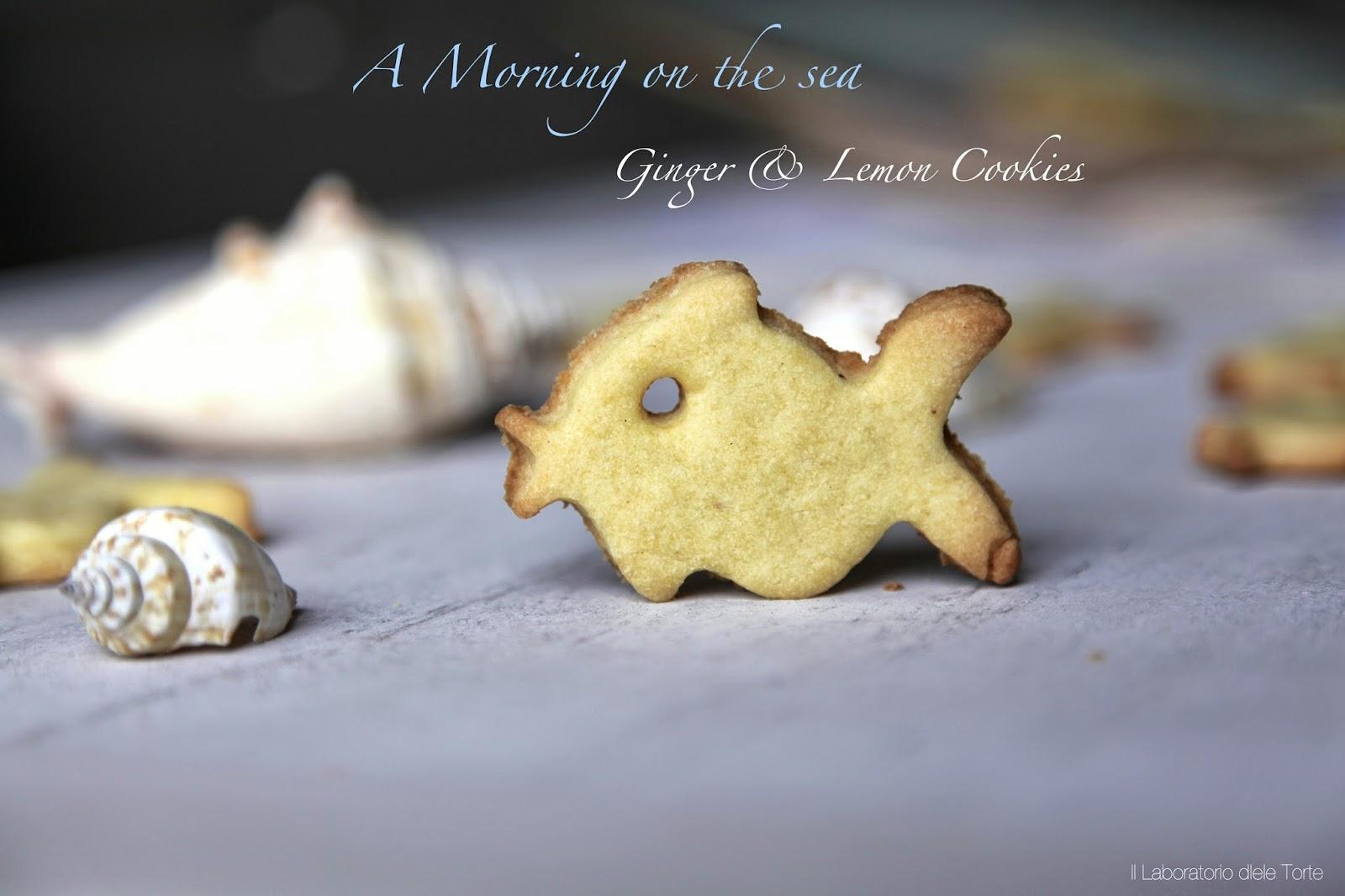 biscotti al limone e zenzero