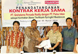 Partnership with PT.Pulau Intan