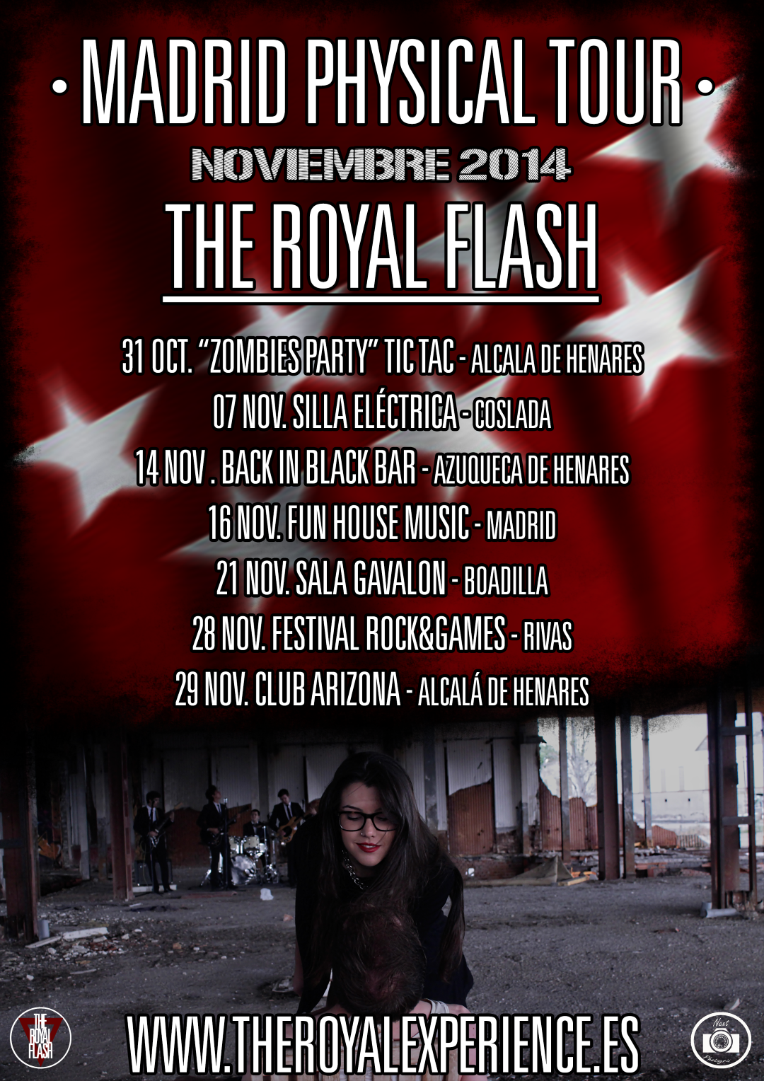 The Royal Flash - Madrid Physical Tour‏