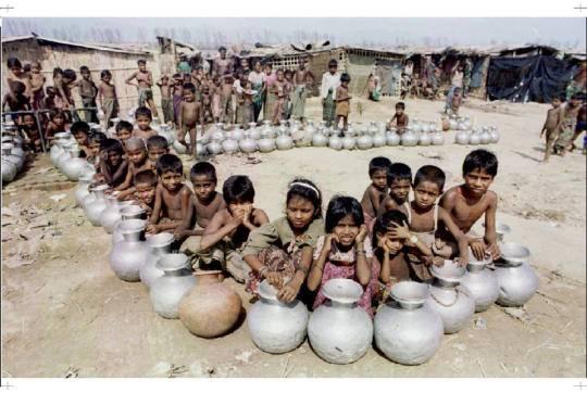 Lebih dari 80 Ribu Anak Rohingya Kekurangan Gizi Akut