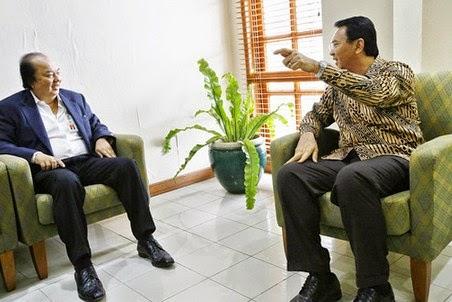 Dr Tahir bersama Gubernur AHOK DKI jakarta