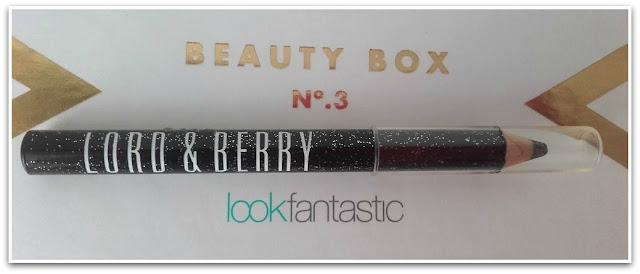 Lápiz de ojos negro Lord & Berry