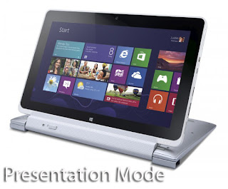 Acer Iconia Tab W510 presentation mode