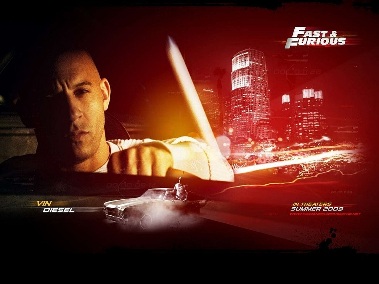 wallpaper HD vin diesel fast and furious 7