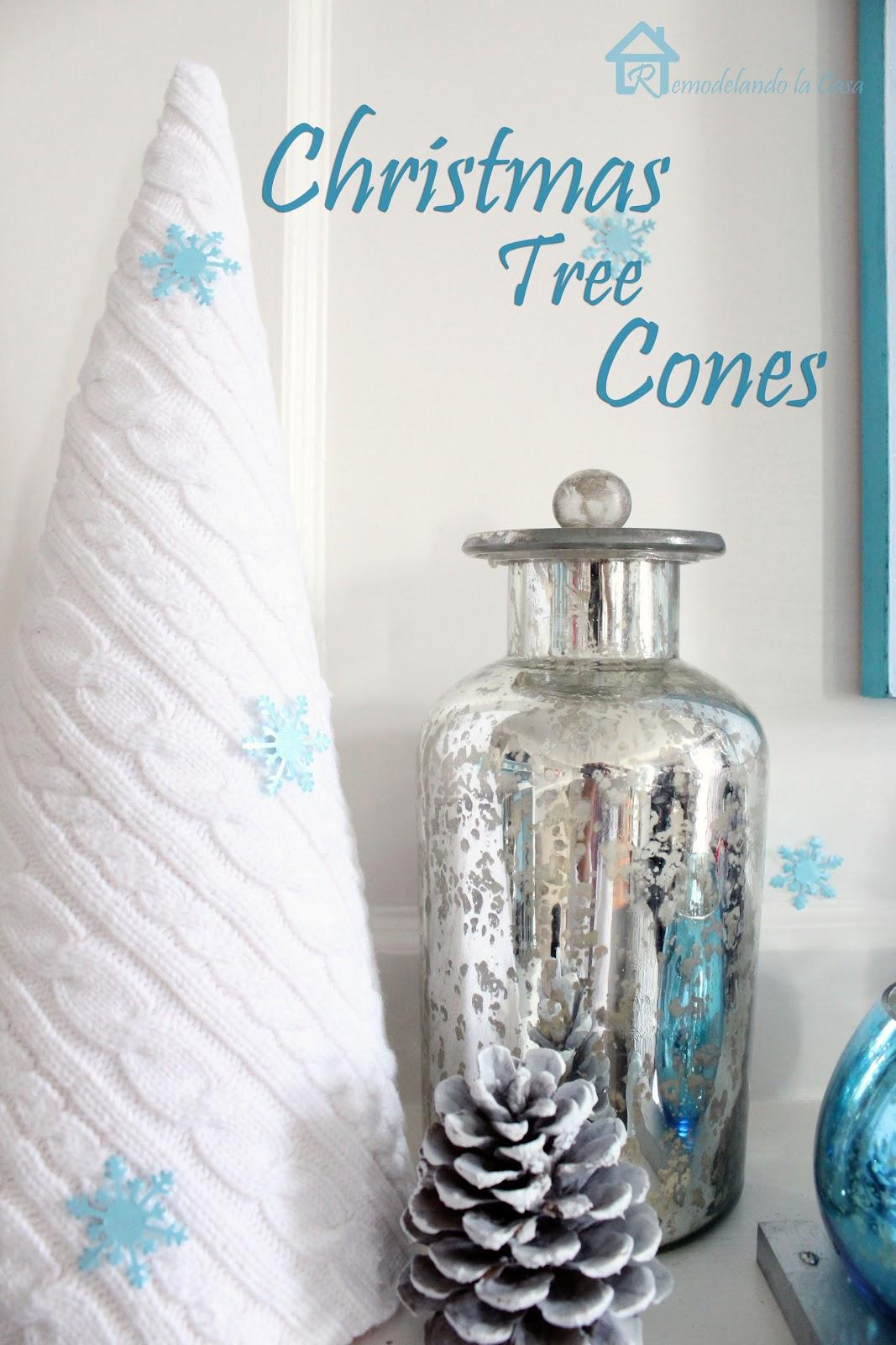 Sweater Christmas Tree Cone + 20 More Ideas - Remodelando la Casa