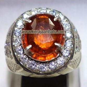 Batu Permata Hessonite Garnet