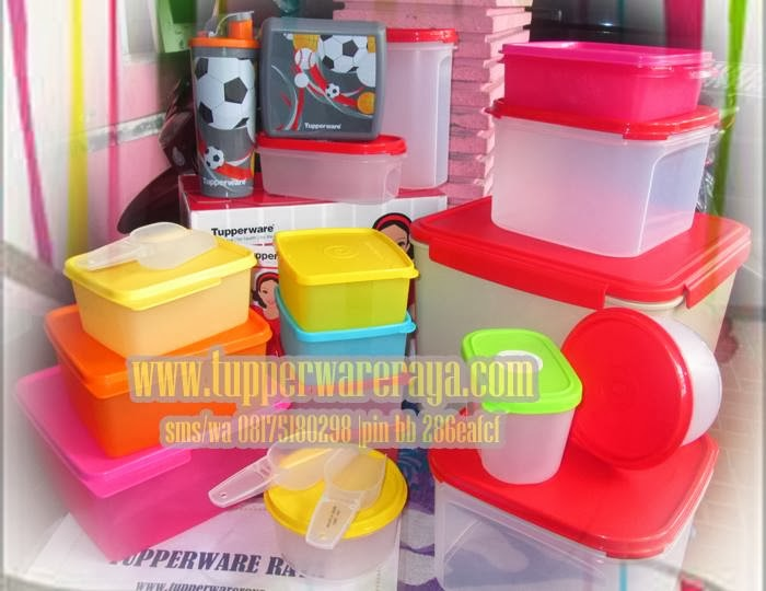 Paket Tupperware Red Komplit