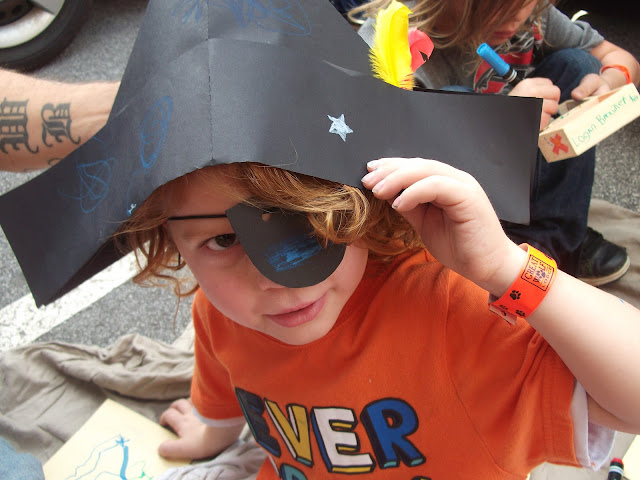 kids craft, pirate craft, kiwi crate, product review