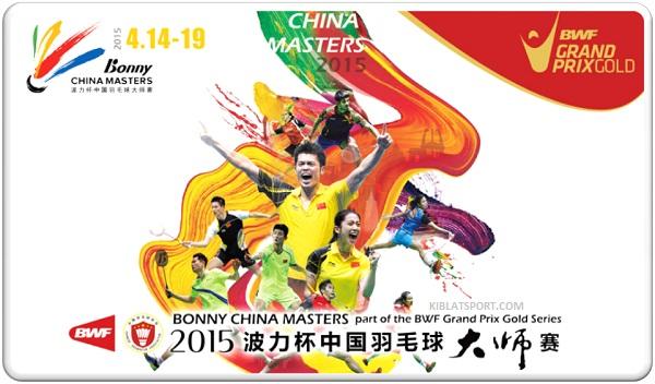 Hasil China Masters 2015, Tiga Wakil Indonesia Sudah Gagal