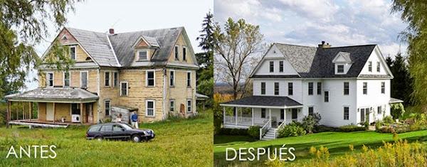 Casa de campo decorar tu casa es - Decoracion de casas antes y despues ...