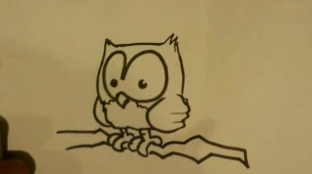 How to draw an owl stuff to draw stuff to draw for Fun things to draw